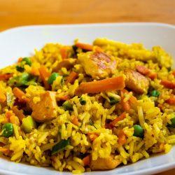 Recette du poulet curry