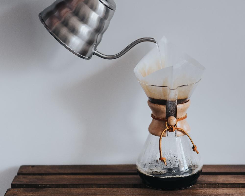 Préparation du café à froid